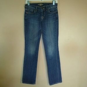 Lucky Brand 0 Sweet N Straight Blue Jeans